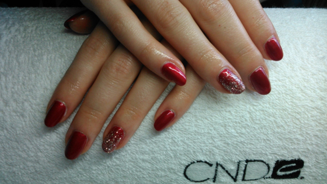 CND-Shellac ® med glimmer