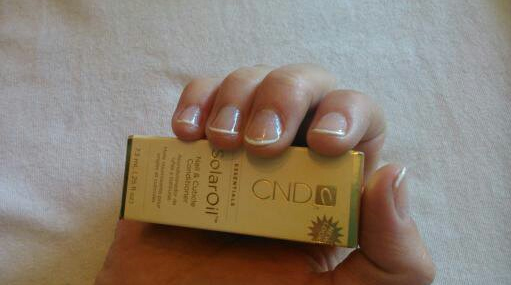 CND-Shellac ® behandling.